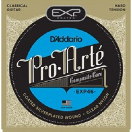 D'Addario Classical Guitar String EXP Hard Clear Set EXP46