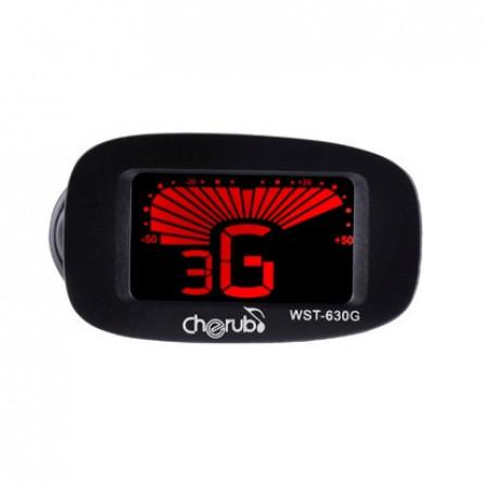 Cherub WST 630 G Digital Guitar Tuner Black