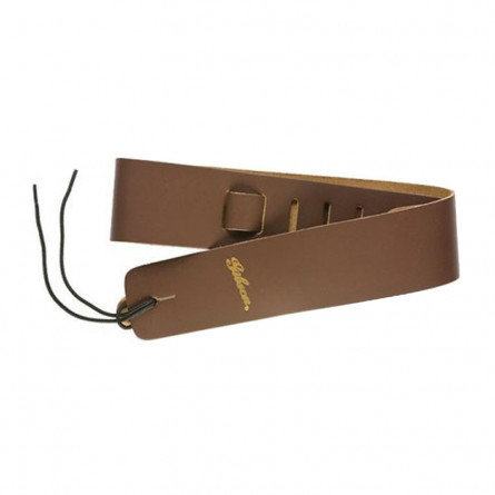 Gibson ASGG -L020 Guitar Strap Soft Leather 2.5 Inches Brown