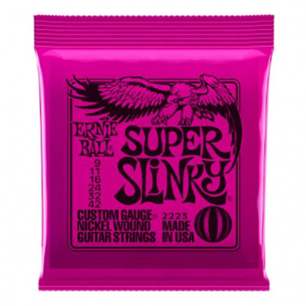 Ernie Ball 2220 Power Slinky Nickel Wound Electric Guitar Strings Set 11 -48