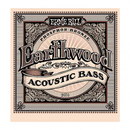 Ernie Ball 2002 Earthwood Medium 80-20 Bronze Acoustic Set 13 -56