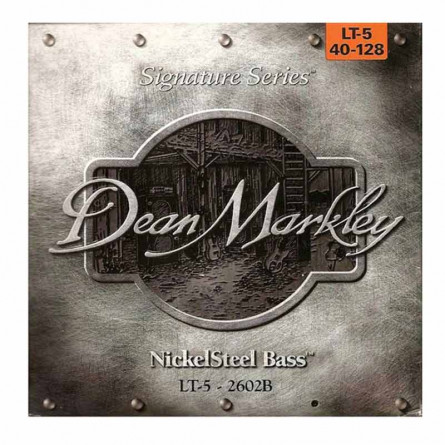 Dean Markley DMK 2602B 5 Strings Bass Guitar Strings 40 128