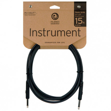 Planet Waves Instrument Cables 15 Feet PW-CGT-15