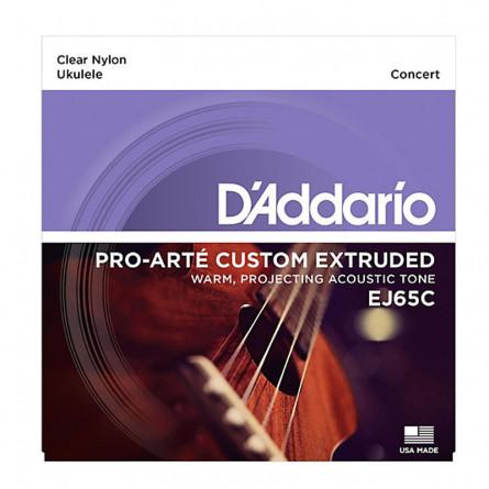 D'Addario EJ65C Ukulele Strings Concert Pro Arte Nylon Set