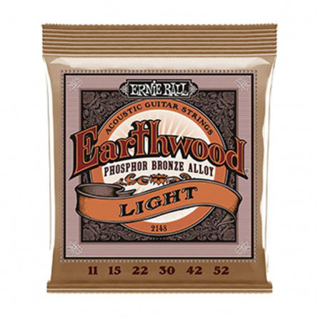 Ernie Ball 2148 Phosphor Bronze Acoustic Guitar String 11-52
