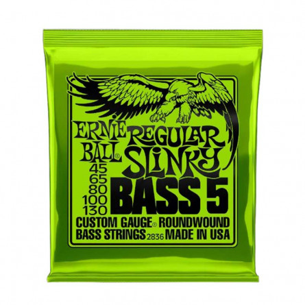 Ernie Ball 2836 Bass Guitar 5 Strings  45-125