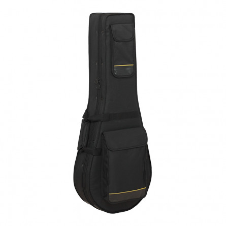 RockCase RC 20803 B Deluxe Line ST Style Electric Guitar Soft Light Case Black