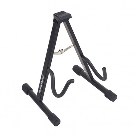RockStand RS 20800 B/1C Standard A-Frame Guitar Stand for Electric and Bass Guitar Black