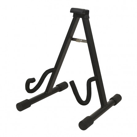 RockStand RS 20800 B/1 Standard A-Frame Guitar Stand for Electric and Bass Guitar Black