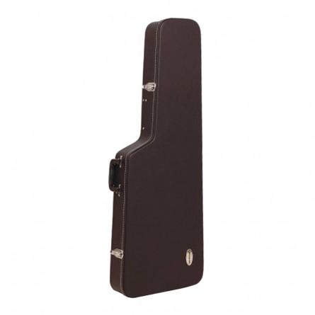 RockCase RC 10603 B SB Standard Classic ST Style Guitar Case Black Tolex