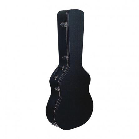 RockCase RC 10609 B SB Standard Acoustic Guitar Case Black Tolex