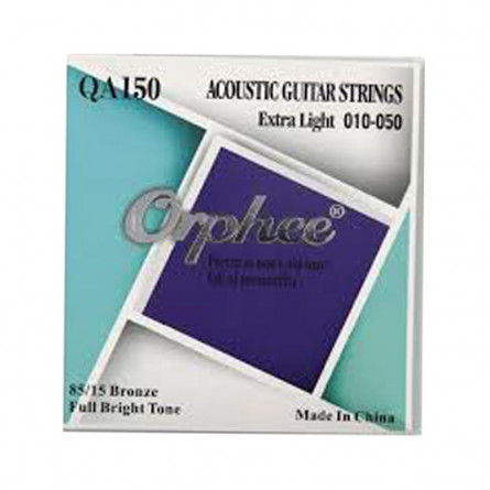 Orphee QA150 Acoustic Guitar String Set 10-50