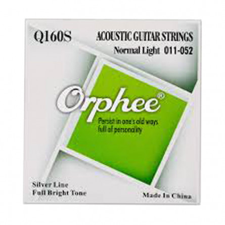 Orphee Q160S Acoustic Guitar String Set 11-52