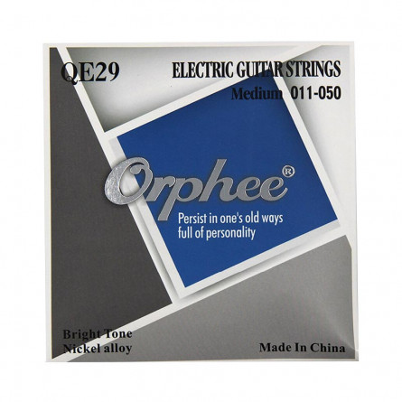 Orphee QE29 Electric Guitar String Set 11-50