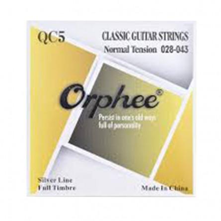Orphee QC5 Classical Guitar String Set 28-43