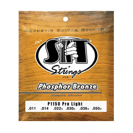 SIT P1150 Phosphor Bronze Acoustic Guitar String Set 11-50