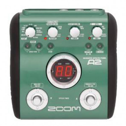 Zoom A2 Acoustic Guitar Effects Pedal