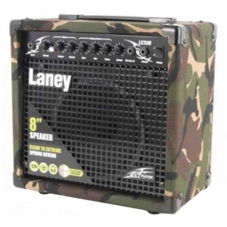 Laney LX20R CAMO 20 Watts with Camouflage Finish Guitar Amplifier