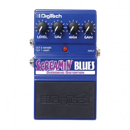 Digitech Screaming Blues Pedal DSBV