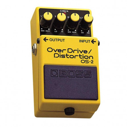 Boss OS-2 Overdrive Distortion Pedal