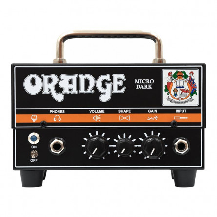 Orange MD Micro Dark Valve Hybrid Guitar Amplifier Head 20 Watts