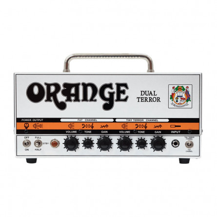 Orange Dual Terror Class A Valve Guitar Amplifier Head 30 Watts