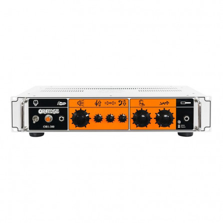 Orange OB1-300 Class A/B Solid State Rack Mountable Head w/footswitch able & DI output 300 Watts