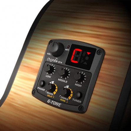 Cherub GT-6 Acoustic Guitar Preamp
