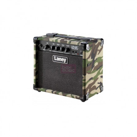 Laney LX15 CAMO Guitar Amplifier 15 Watts With Camoflage Finish