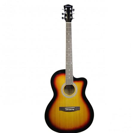 Havana AAG39C SB Acoustic Guitar Cutaway Sunburst