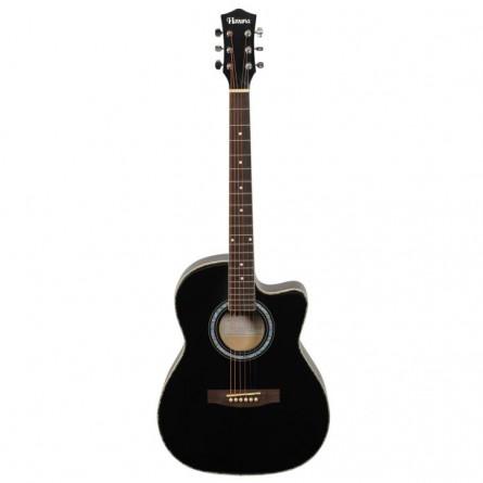 HavanaFA391C BK Acoustic Guitar Cutaway Black