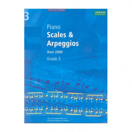 AB Piano Scales and Arpeggios From 2009 Grade 3