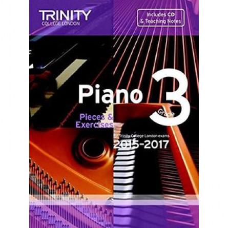 TCL Piano Examination Pieces 2015 to 2017 Grade 3