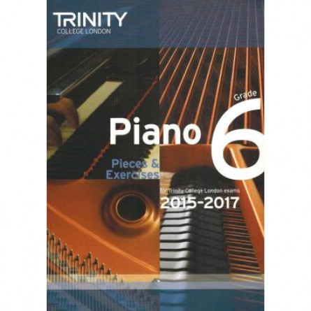 TCL Piano Examination Pieces 2015 to 2017 Grade 6