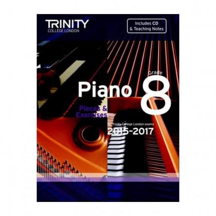 TCL Piano Examination Pieces 2015 to 2017 Grade 8