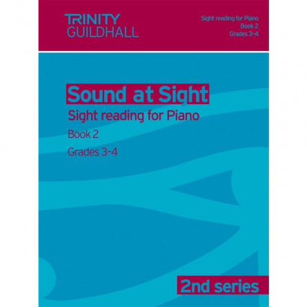 TG Sound at Sight Reading for Piano 2nd Series Book 2 Grades 3 and 4