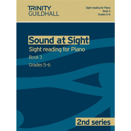 TG Sound at Sight Reading for Piano 2nd Series Book 3 Grades 5 and 6