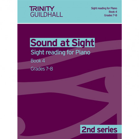 TG Sound at Sight Reading for Piano Book 4 Grades 7 and 8