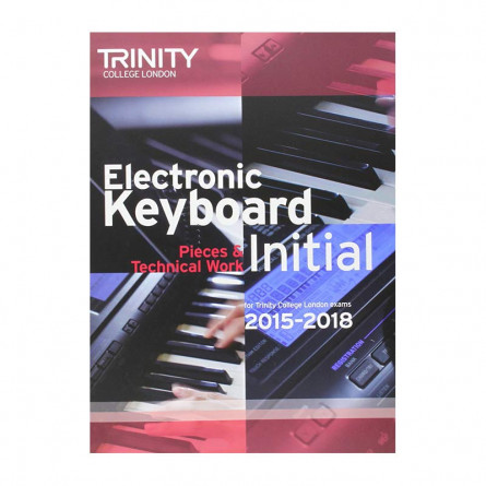 TCL Electronic Keyboard Examination Pieces 2015 to 2018 Initial