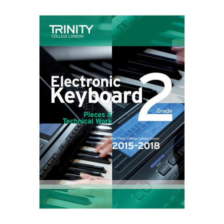 TCL Electronic Keyboard Examination Pieces 2015 to 2018 Grade 2