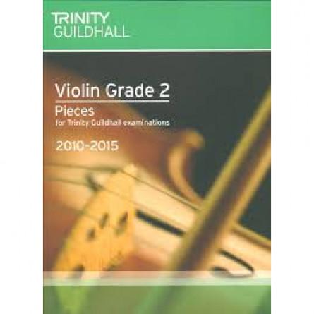 TG Violin Examination Pieces 2010 to 2015 Grade 2