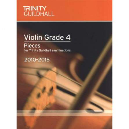 TG Violin Examination Pieces 2010 to 2015 Grade 4