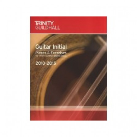 TG Guitar Examination Pieces 2010 to 2015 Initial