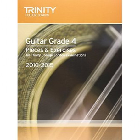 TG Guitar Examination Pieces 2010 to 2015 Grade 4