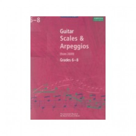 AB Guitar Scales and Arpeggios From 2009 Grades 1 to 5