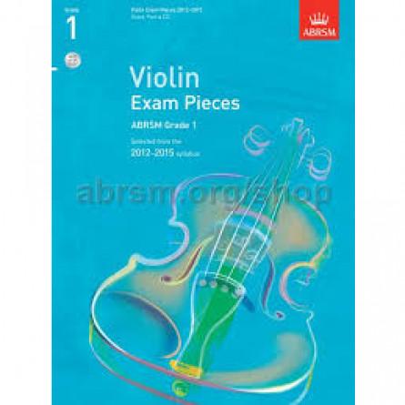 AB Violin Examination Pieces 2012 to 2015 Grade 1