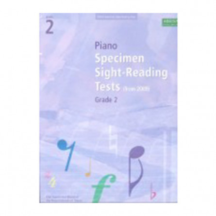AB Piano Specimen Sight Reading Tests From 2009 Grade 2