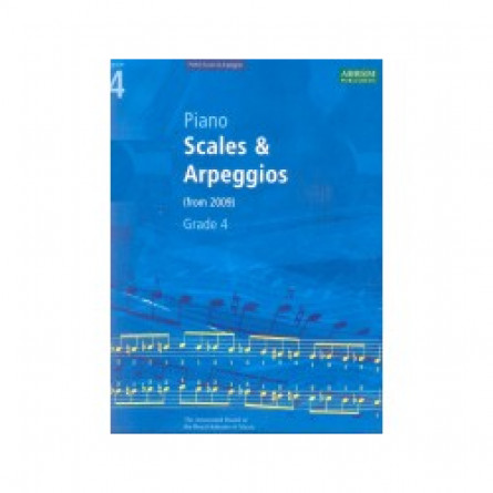 AB Piano Scales and Arpeggios From 2009 Grade 4