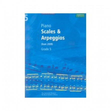 AB Piano Scales and Arpeggios From 2009 Grade 5