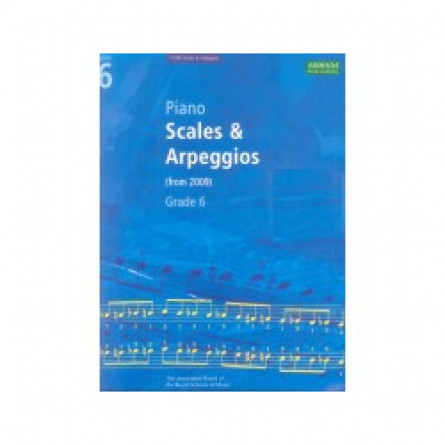 AB Piano Scales and Arpeggios From 2009 Grade 6